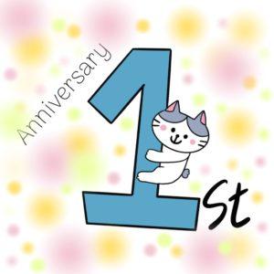 1st Anniversary…Thankyou